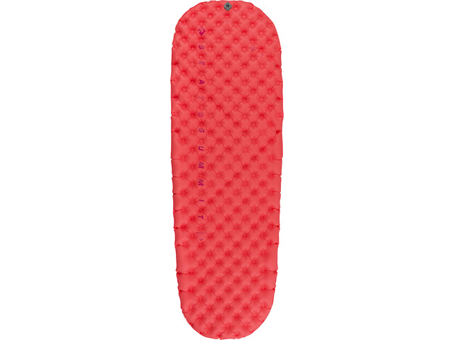 Sea to Summit Ultralight Esterilla Aire Aislante Largo Mujer, rojo